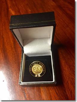 BNI Central Valley Double Diamond Gold Club