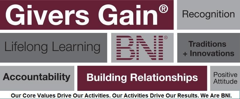 BNI's Core Values